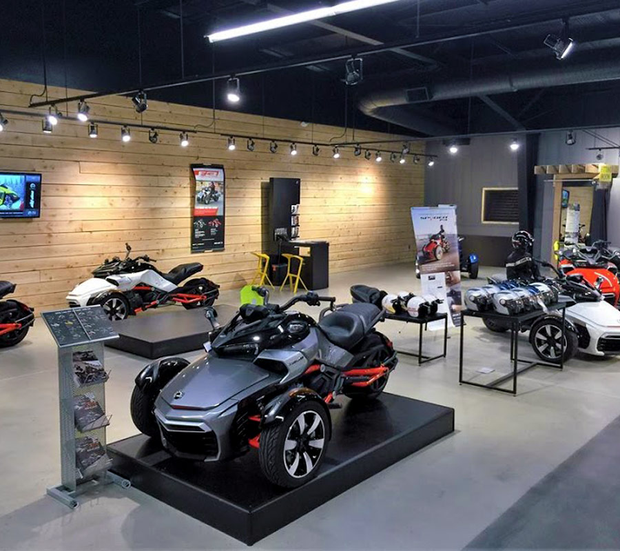 BRP Showroom