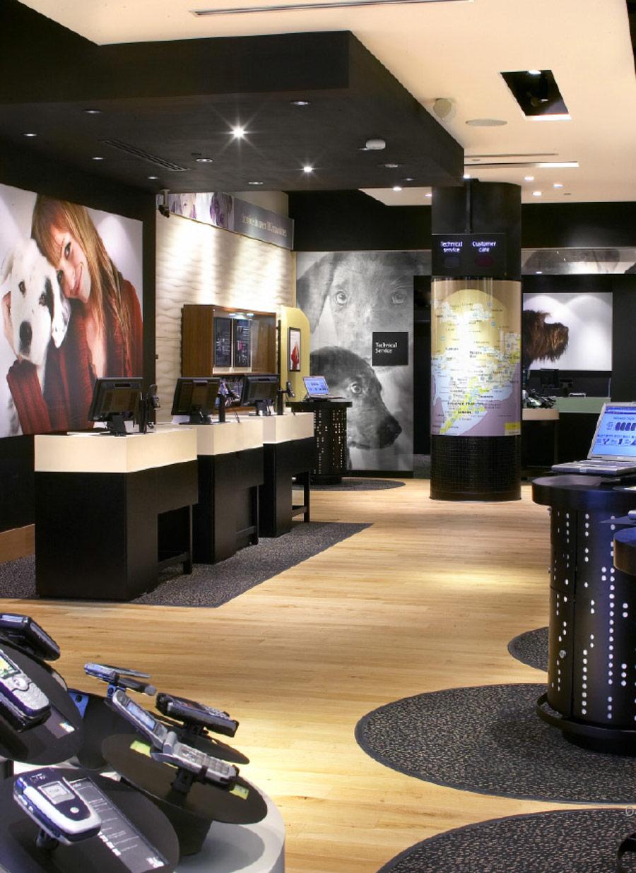 Fido store design, Montreal