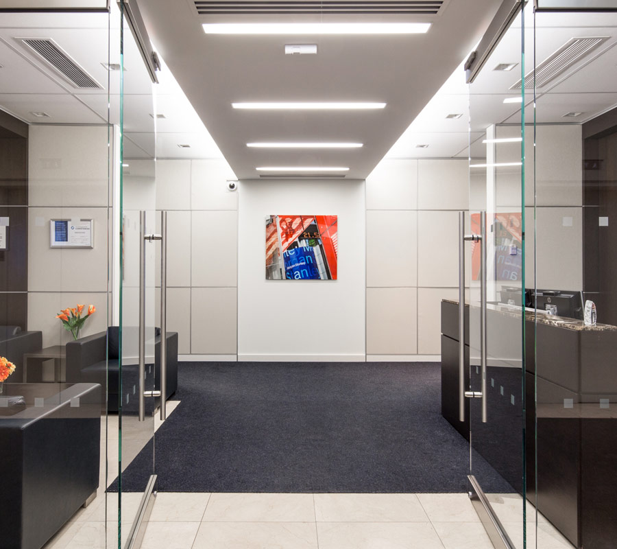 Morgan Stanley office design
